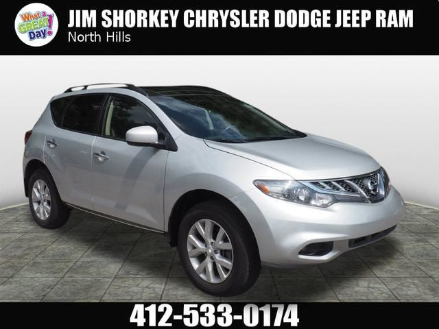 2013 Nissan Murano SL In North Huntingdon, PA   Jim Shorkey Chrysler Dodge  Jeep Ram